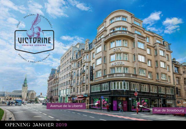 Victorine Cuisine Urbaine City Hotel Luxembourg