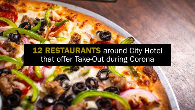 Restaurants around City Hotel that offer Take Away
